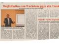 Möglichkeiten zum Wachstum gegen den Trend - erschienen in Blick aktuell Nr. 14/2009