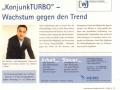 """""""KonjunkTURBO"""" - Wachstum gegen den Trend - erschienen 02/2009 IHK"""