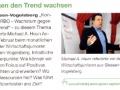 Gegen den Trend wachsen - erschienen in quip 2/2009