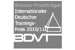 Michael A. Heun: Bronze-Preisträger Internationaler Deutscher Trainings-Preis 2010/11